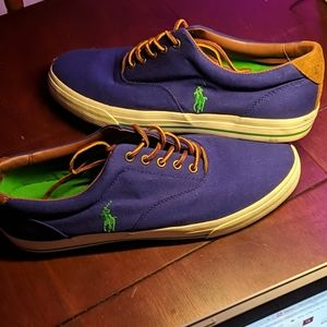 Polo Ralph Lauren Canvas sneakers (sz 13)